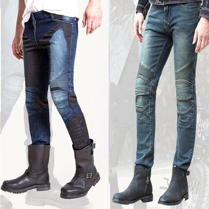 Motorcycle jeans detachable protective equipment motorcycle pants motorbike racing pants Harley locomotive men's moto pants