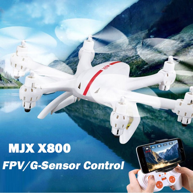 MJX X800 2.4G RC Quadcopter Drone RC Helicopter 6-axis WithC4005 WIFI FPV Camera Quadcopter Upgrade MJX X600 X400 картридер внешний transcend ts rdp8k cf mmc sd sdhc microsdhc msduo msmicro черный