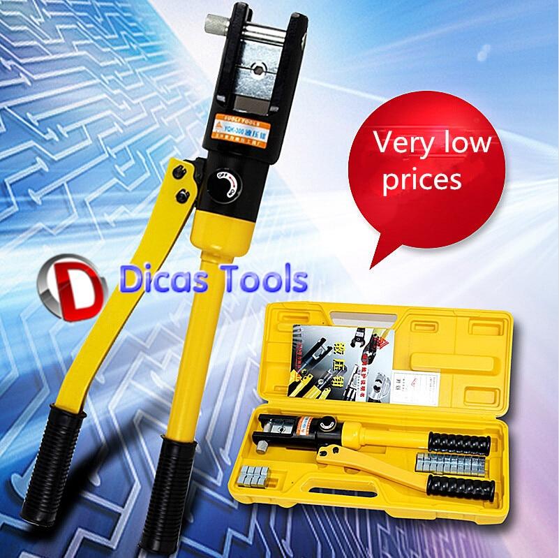 hot sell manual hydraulic crimping tool YQK-300 manual hydraulic crimping tool wire terminal crimper 240mm2