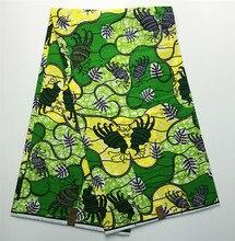 Afrikanische S163717 hollandais dutch wachs stoff für frauen partei kleid & handtasche & schuhe, 100% Baumwolle Hohe qualität super wachs 6 yards