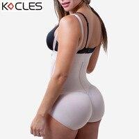 Artı Boyutu Sıcak Lateks kadın Vücut Şekillendirici Mesaj Liposuction Kuşak Klip ve Zip Bodysuit Yelek Bel Şekillendirici Reductoras Shapewear