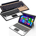 New Slim Aluminum Bluetooth Keyboard Case Stand With Touchpad For Microsoft Surface 3 10.8Inch EM88