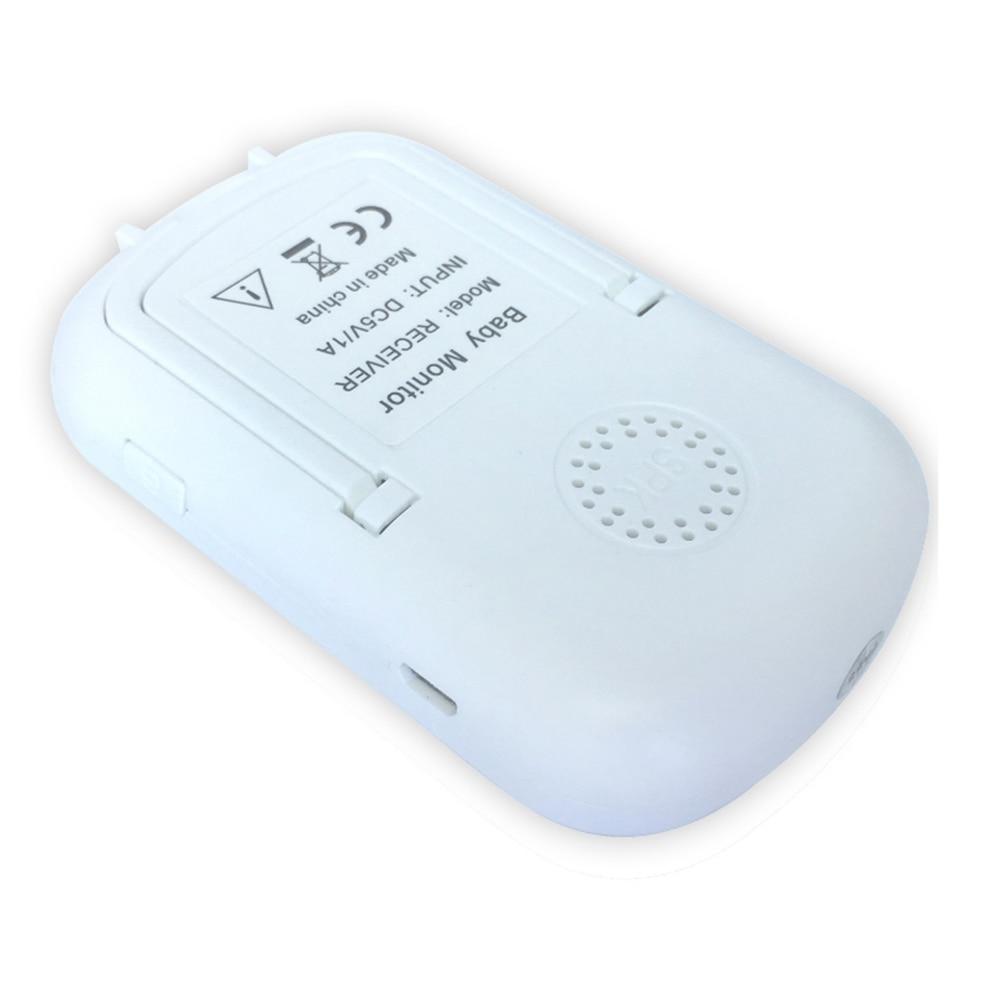 Shujin 2.4 GHz 2.4 pouces écran LCD sans fil bébé moniteur vidéo Vision nocturne surveillance de la température bébé téléphone moniteur Audio - 5