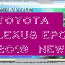 Epc todas as regiões [9/2019] para toyota, lexus parts catalouge