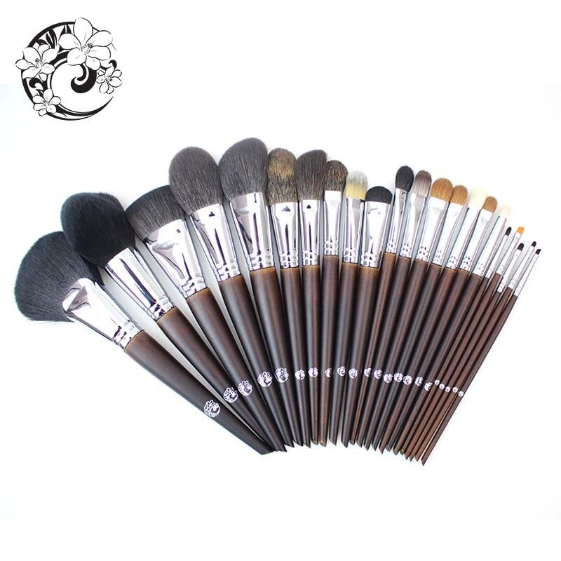 Energía marca profesional 22 piezas Maquillaje cepillo Natural conjunto de pinceles de Maquillaje + bolsa + Brochas Maquillaje Pinceaux Maquillage tm1 - 2
