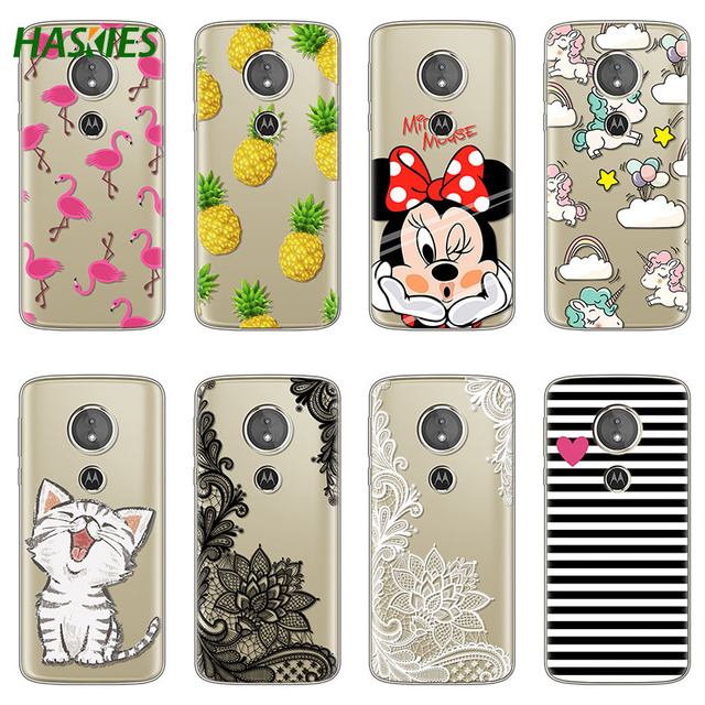 info for 930b7 47e1f US $1.01 14% OFF|Cute For Motorola Moto G6 Play Case 5.7 inch Soft TPU  Cartoon painted for Moto G6 Play Case Cover Coque Transparent Clear Bags-in  ...