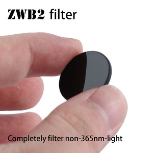 Image 2 - ZWB2 مرشح للأشعة فوق البنفسجية 36nm ضوء ، 20.5 مللي متر قطرها ، 2 مللي متر سمك