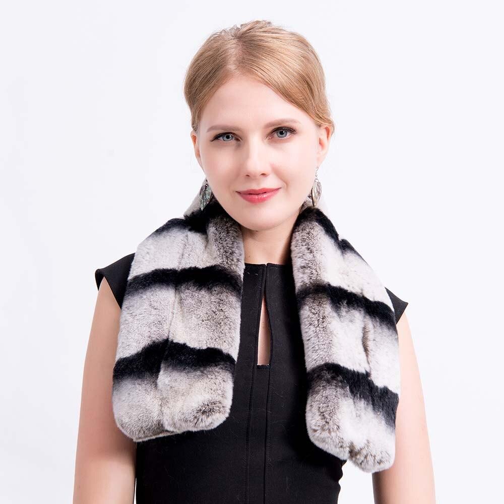 chinchilla fur scarf 6