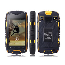 GuoPhone Z6 Rugged Original Waterproof Smartphone 512MB RAM 4GB ROM MTK6572 Dual Core 4 0 IPS