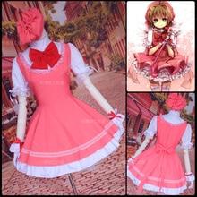 font b Anime b font Cardcaptor card captor Sakura Kinomoto Sakura font b cosplay b