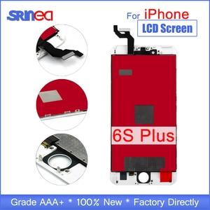 "Image 1 - ل فون 6s زائد شاشة الكريستال السائل 6 S زائد غيار للشاشة 5.5 ""شاشة LCD الأصلية و محول الأرقام الجمعية 100% اختبار الصف AAA"