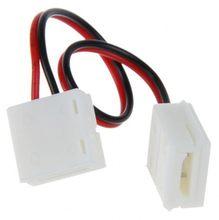 Connecteurs Led 2/4 broches, 5 pièces, pour bande de PCB de largeur 8/10mm, Clip étanche sans soudure avec prise de câble de 15cm
