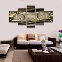 Pintura da lona Da Parede Da Arte Abstrata Pintura Impressões Eixo do Tempo para Sala de estar Decoração de Casa Modular Cartaz Retro Layered Fotos