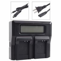 DSTE LCD89A Dual Battery Charger with USB Port for PENTAX D Li88 D LI88 DB L80 db l80 Battery Optio H90 P70 P80 W90 WS80 Camera
