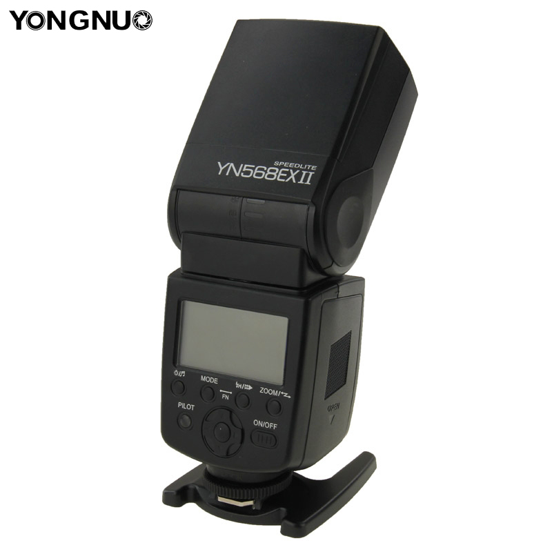 Yongnuo YN-568EXII/C Sync Flash Light For Canon 5D MarkII 5D 7D 60D 50D 600D 550D 500D 450D 400D Speedlite Shutter Release Light цены
