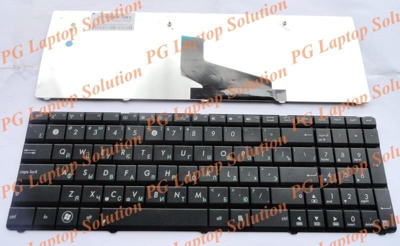 Russian Keyboard for ASUS K52 K53 N53 X54 A53 A53T X53 X53B X53C X53T X53U X73 N73 K73 K73T K53T X53Z N61 X53E A53U RU Black цена