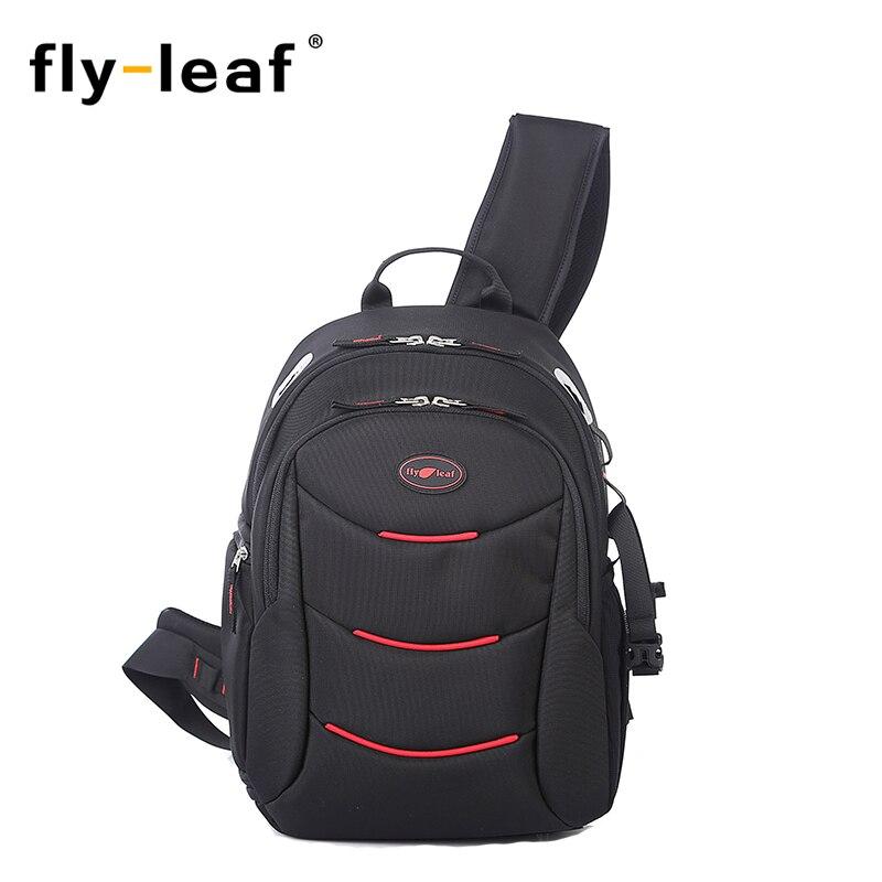 Flyleaf FL-338 Camera Bag One Shoulder Backpack Inclined Across Shoulders Waterproof Backpack For Camera Video Photo Bag open front slimming asymmetrical cardigan
