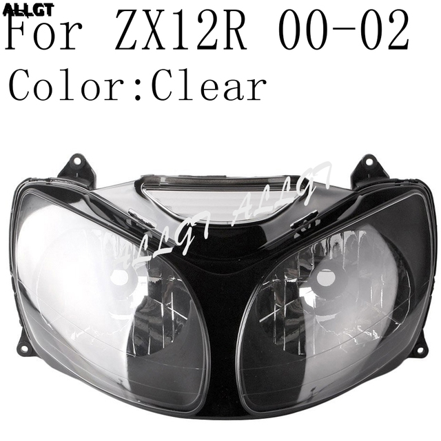 Motorcycle Front Headlamp Headlight Assembly For Kawasaki ZX10R ZX12R  2004 2005 2006 2007 2008 2009 2010 2011 2012 2013
