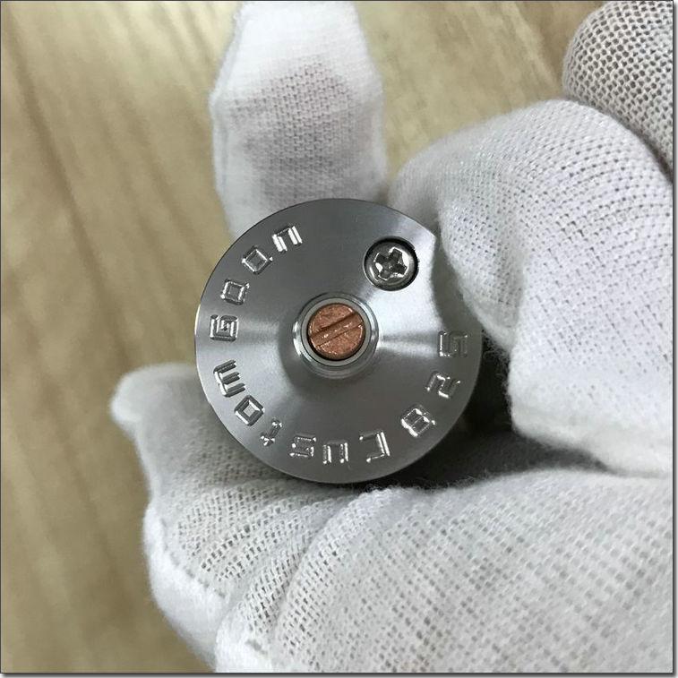 Hottest Tank Custom Goon RDA With 24mm Diameter Goon 528 Dripping From Old Friend Vape