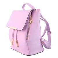 สาวสีชมพูน่ารักแฟชั่นผู้หญิงกระเป๋าเดินทางกระเป๋าสะพายD Rawstringกระเป๋าเป้สะพายหลังกระ
