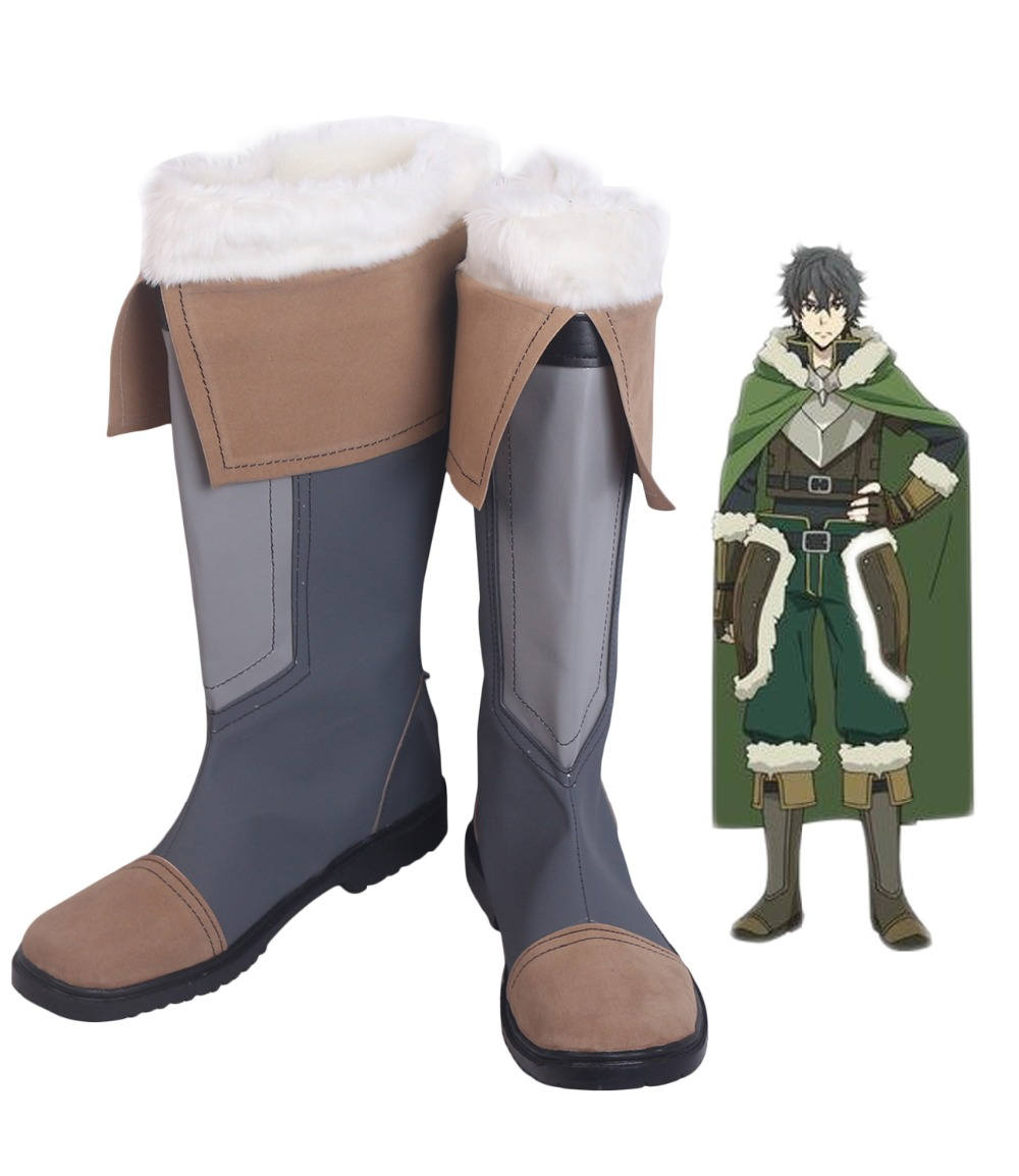 The Rising of the Shield Hero Naofumi Iwatani Cosplay Boots Shoes Custom Made Any Size