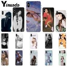 Yinuoda Ariana Grande AG Rainbow Sweetener DIY Luxury High-end Protector Case for iPhone 5 5Sx 6 7 7plus 8 8Plus X XS MAX XR