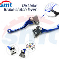 For KTM 65SX 2009 2010 2011 CNC Aluminum Dirt Bike FLEX Pivot Brake Clutch Lever clutch brake levers blue color