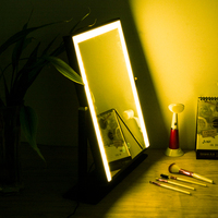 BEAUTMEI 2018 Hottest Table Top Lighted Beauty Salon Glam LED Hollywood Vanity Makeup Cosmetic Dressing Mirror