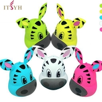 ITSYH Mini Animal Bluetooth Speaker Portable Cartoon Outdoor Music Player Lounder Speaker Support Self Timer Handfre