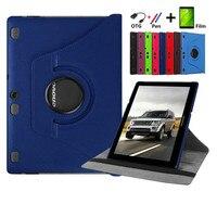 For Lenovo Tab 2 A10 70 10 1 Tablet Case 360 Rotating For Lenovo A10 70