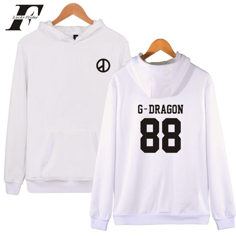 Hip Hop Kpop Bigbang Hoodies Men And T.o.p Bigbang Hoodies Sweatshirt Men moletom masculino tracksuit hoodie oversized hoodie
