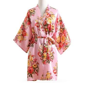 Women Sleepwear Nightwear Sexy Kimono Robe Solid Winter Autumn Casual Cotton Bathrobe Belt Elegant Bathroom Spa Robe 2019 New Sleepwear, Lounge & Robes