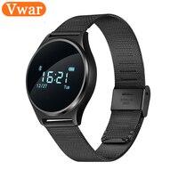 Vwar M7 Bluetooth Blood Pressure Wrist Watch Smart Bracelet Heart Rate Monitor Wristband Fitness Sleep Tracker