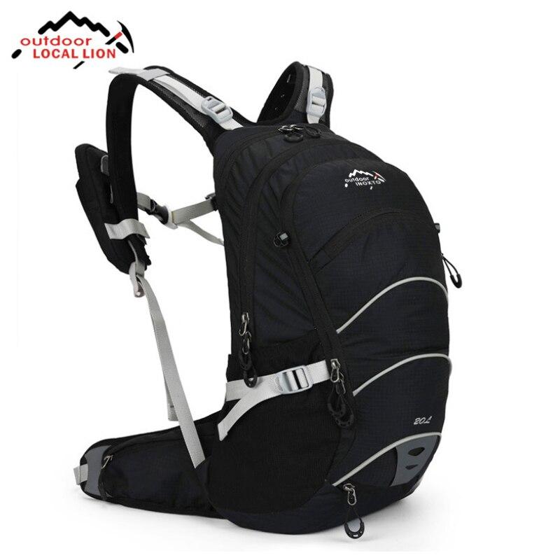 20L sac à dos de cyclisme en plein air Type de cadre externe sac de sport de randonnée sac à dos d'escalade imperméable respirant sac à dos de voyage