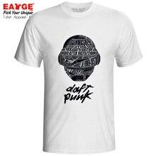 Daft Punk T Shirt French Electronic Music Duo Brand Funk Techno Disco Rock Synthpop Design T-shirt Print Fashion Unisex Tee