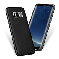 Business 5.8/6.2 Inch Plating Coating Shockproof Soft TPU Back Case Cover Dirt-resistant Skin For Samsung For Galaxy S8/S8 Plus