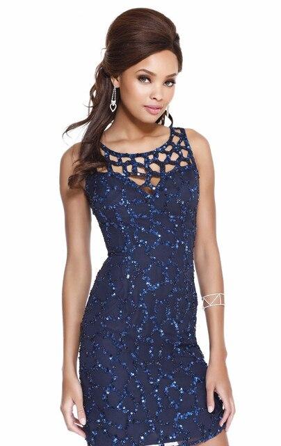 2017 New Designer Luxury Full Crystal Beaded Elegant Gorgeous  Short Straight Cocktail Dresses Formal Homecoming Dress vestidos