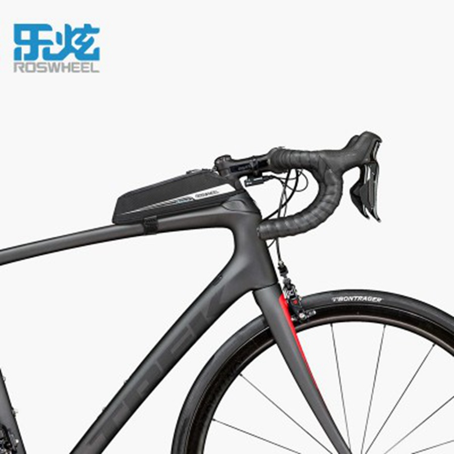 Roswheel Bike Bicycle Cycling Bags Top Bag Front Beam Road 0 4l In Panniers From Sports Entertainment On