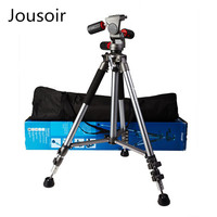 High quality Weifeng Pro Photo Video Tripod for camera Stand FT 6307 3 way Pan Head tripode PTT9 fast shipping cd50