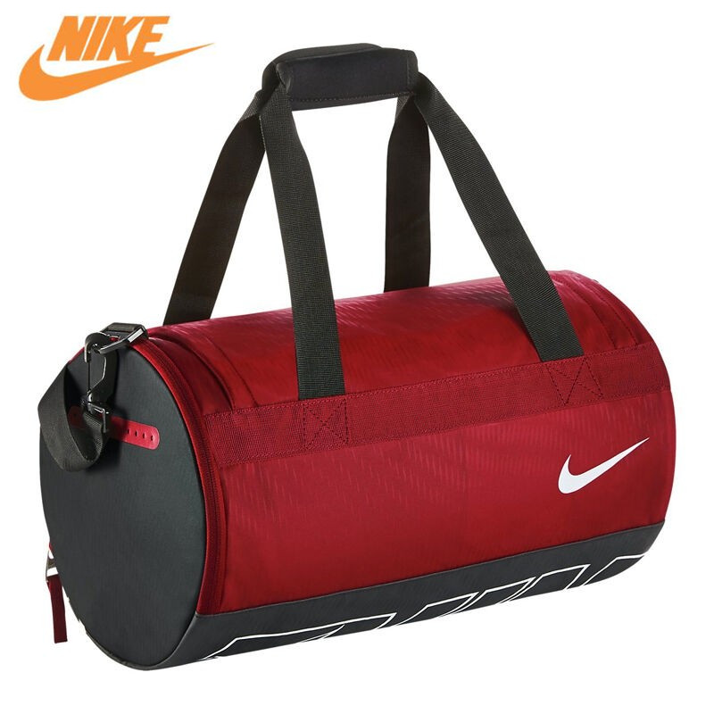 где купить Nike New Arrival Authentic ALPHA ADAPT DRUM DUFFEL Men's Handbags Sports Bags BA5185 дешево