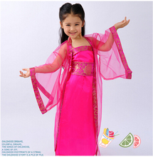 Kids Girls Costumes Ancient costume Chinese clothing Ancient Clothing Fairies girl dress Classical dance costumes Princess Royal