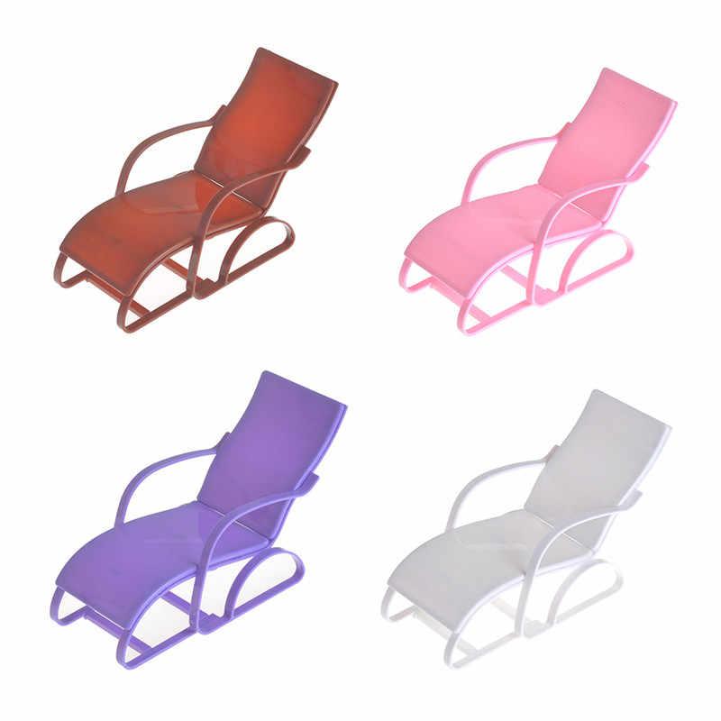 Качалка стул для пляжного отдыха для куклы розовые стулья дом мечты Gardan мебель 1/6 аксессуары 4 цвета 19*8,2*11 см