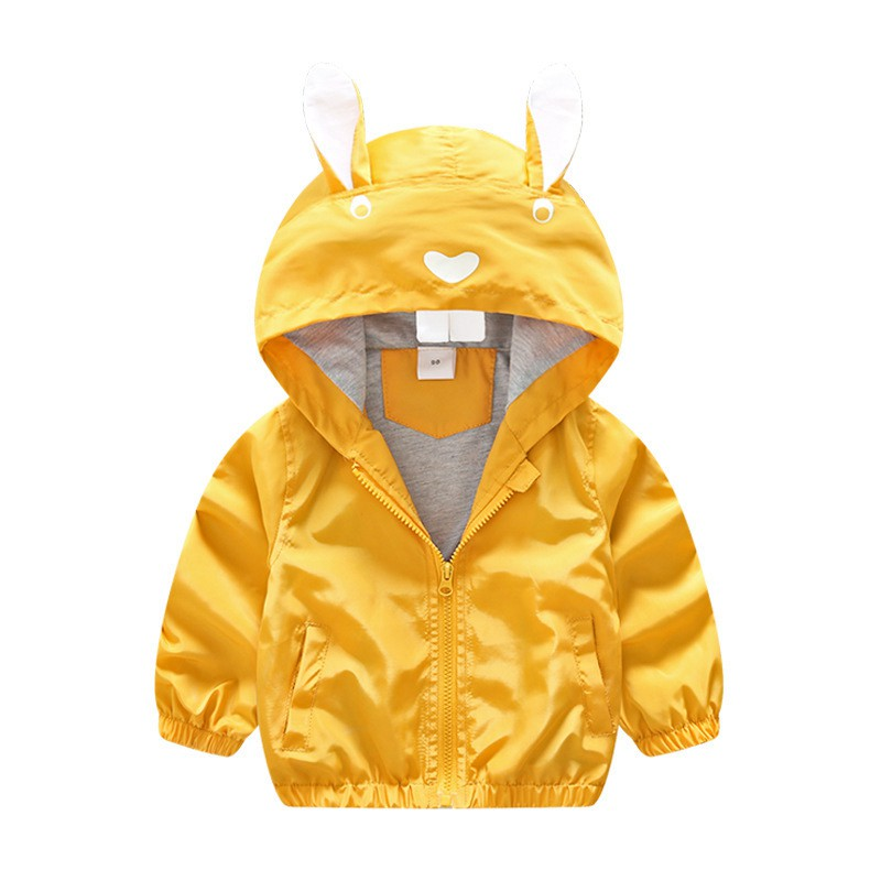 CROAL CHERIE 80-130cm Cute Rabbit Kids Boys Jacket Girls Outerwear & Coats Children Korean Kids Clothes 2018 For Girls Autumn (1)