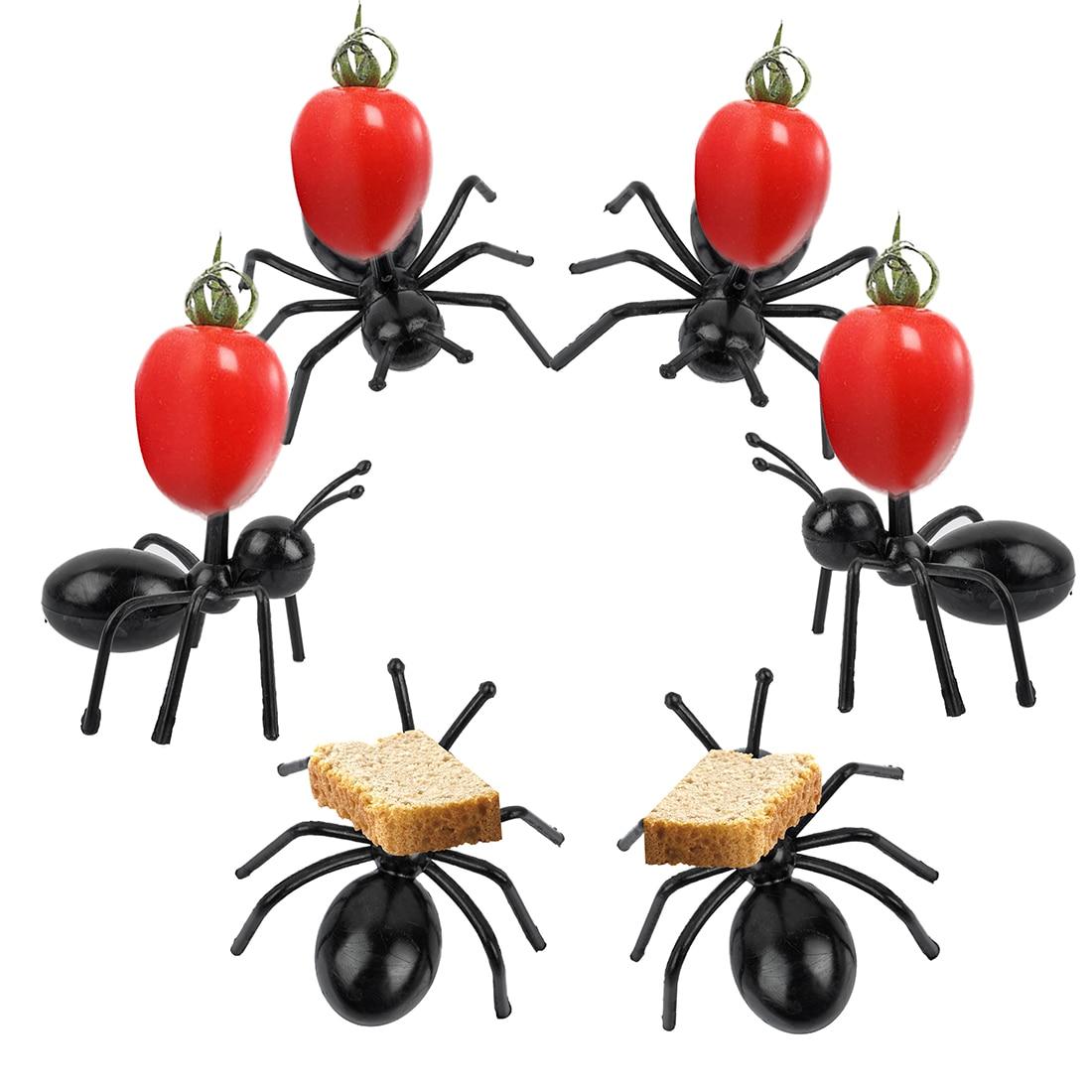 Aliexpress.com : Buy 12pcs/set Cute Mini Ant Fruit Fork ...