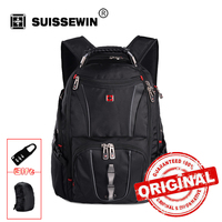 Hot Sale Swiss Army 15 6 Laptop Backpack Men S Backpack Multifunctional Schoolbag For Teen Boys