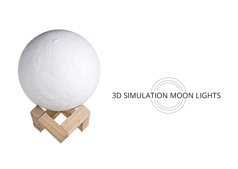 Rechargeable 3D Print Moon Table Lamp Christmas 16 Colors Night Touch Control Novelty Bedroom Desk Light For Baby Children Gifts (2)
