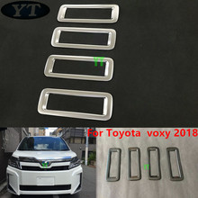 Auto inerior accessories,rear air vent intake trim  For Toyota voxy 2018,ABS chrome ,auto accessories