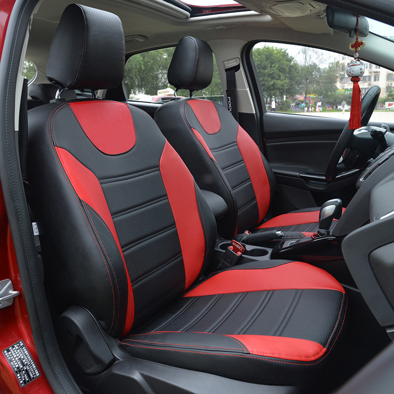 TO YOUR TASTE auto accessories custom luxury leather car seat cover special for LAVIDA CC CADDY GOLF GTI COMBI VR6 SAGITA trendy