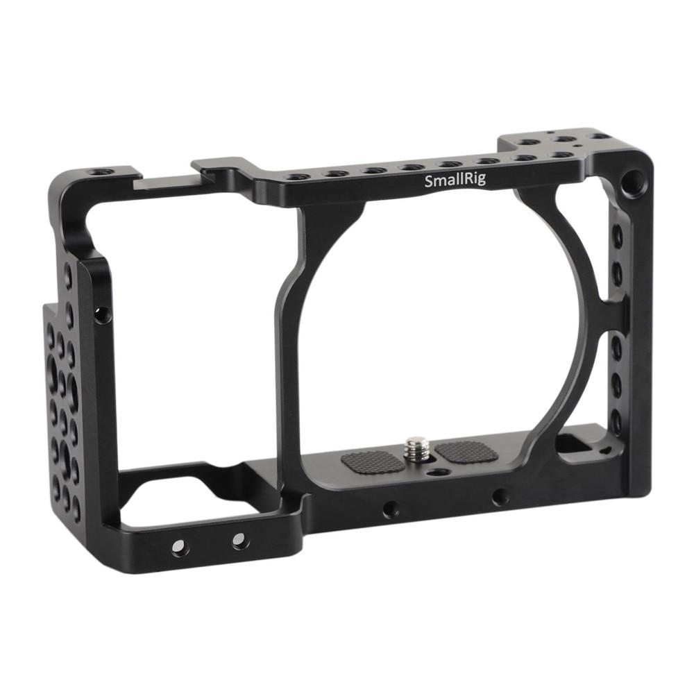 цены на SmallRig DSLR Camera Cage for Sony Alpha A6300 / for Sony Alpha A6000 / Nex-7 Camera W/ Shoe Mount For Microphone Flash Light в интернет-магазинах