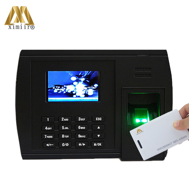 Standalone Time Recorder Fingerprint Recognition 125KHz TCP/IP Communication Webserver XM228 Biometric Clock Office Device